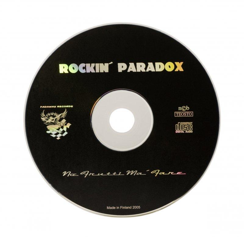 CD + 1-väripainatus (silkki)