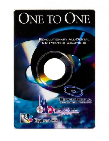 Käyntikortti-CD digipainolla