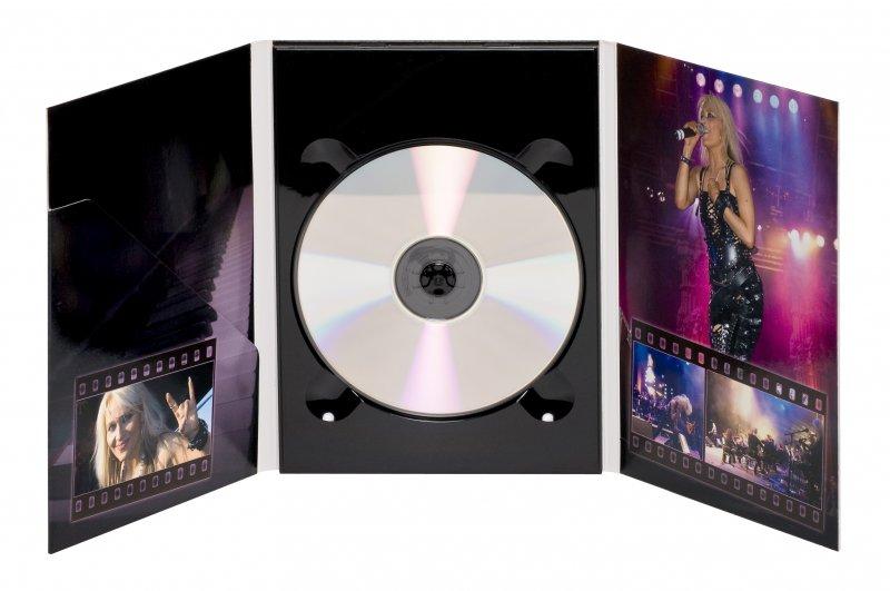 6-sivuinen DVD digipak