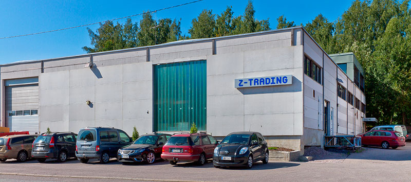 Z-Trading Säynäslahdentie 12 talo